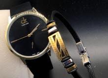 ساعة + براسلي