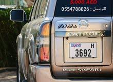 Special Dubai Plats Number
