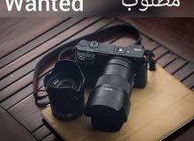 Wantedمطلوب Sony A6000 - A6100