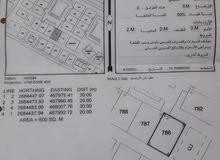 ارض سكنية سيح المكارم (حي الرفعة ) مربع 11- ولاية صحار