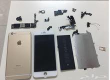 قطع غيار ايفون 6 (تشليح) القطع اصليه