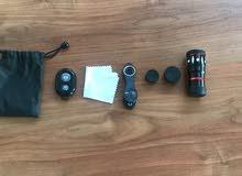 عدسات تصوير 3 قطع للايفون و الجلكسي