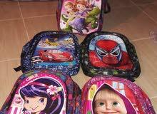 حقائب مدرسية تركية للبيع