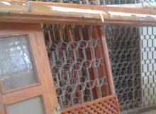 ابواب ونوافذ مستعملة للبيع(مسلاته )