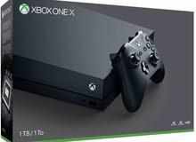مطلوب xbox one x للبيع