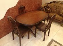 طاولة سفرة ميداس 4كراسي