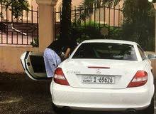 Mercedes Benz SLK 200 2005 For sale - White color