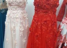 فستانين سهرة للبيع