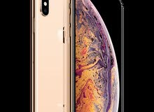 IPHONE XS MAX 256 ذهبي _جديد_ضمان سنتين من شركة زين