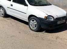 Used condition Opel Corsa 1998 with +200,000 km mileage