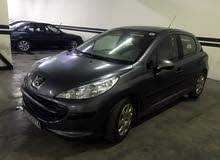 Grey Peugeot 207 2009 for sale