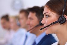 خدمة عملاء هاتفية (عنصر نسائي فقط)