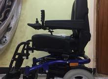 كرسي متحرك مستعمل نظافته 100٪