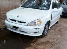 Automatic White Kia 2002 for sale