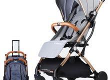 عربة اطفال مسموحة بدخولها الطائرة سهلة الحمل و التنقل و جودة ممتازة