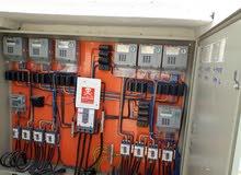 توصيلات الكهرباء فحص وتوصيل المنازل الجديده و العدادات المؤقته *الانارة