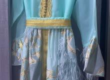 للبيع فستان مغربي جديد للاستفسار ع الرقم 36870952