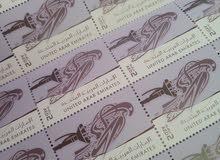 طوابع  بريدية عدد 190 قيمة 2 ..بيع لعدم الحاجه