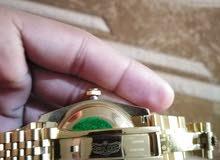 ساعة رولکس ديت جيست هاي كوبي طبق الأصل لون ذهبي