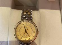 للبيع ساعة اوميغا رجالي اصلية قياس 35 استيل بذهب فينتج من الزمن الجميل
