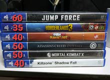 Ps4 games for sale. Open to trade or swap