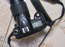 Nikon d90 with lenss 55-200