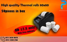 POS Thermal Paper Rolls Y