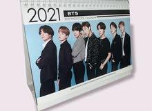 BTS kpop band 2020/2021 calendar