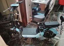 دراجه كهربائيه بحاله الوكاله للبيع