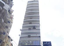 شقه 110 متر الطابق الـ11 على الاحمر بقناة السويس