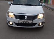 Renault Logan 2012 For sale - White color