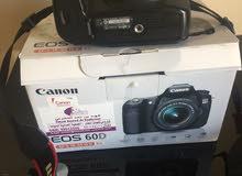 للبيع كاميرا canon 60D  بودي فقط