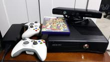 Xbox 360 معدل جيتاغ مع يد عدد 2اصلي