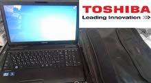Toshiba satellite pro c660-2JT استعمال بسيط ..شبه جديد