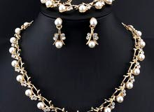 طقم مجوهرات تقليد