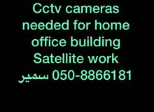 we install cctv camera sattalite networking and all kind of electrions rep