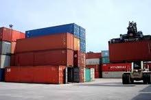 حاويات شحن مستعملة