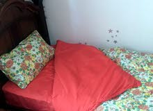 جديد  غطاء سرير او(شرشاف مع وسائد