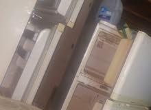 ثلاجة كبيرة وثلاجة متوسطة ببابين