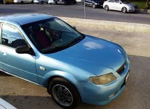 Manual Blue Mazda 2002 for sale