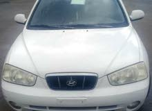 Automatic White Hyundai 2002 for sale
