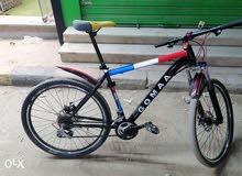دراجه GommA ويوجد منقشه  مع الزبون