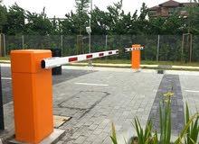 electronic parking gates