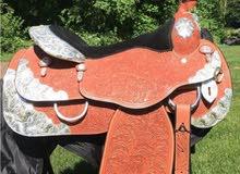 Silver Royal Horse Saddle