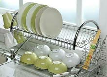 مطبقية Dish Drainer 2 layer
