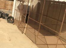 للبيع قفص لجميع الحيوانات طول 5 متر والعرض 2 متر والارتفاع 2 متر