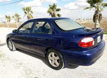 Blue Hyundai Accent 1996 for sale