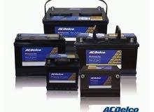 بطاريات ACDELCO 55A كفالة الوكيل المعتمد في الاردن