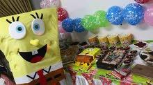 شخصيات كرتونيه ومهرجين لحفلات الاطفال