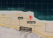 ارض سكنية ثاني خط من البحر ولاية صور شياع